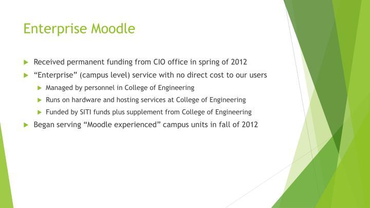 Enterprise Moodle
