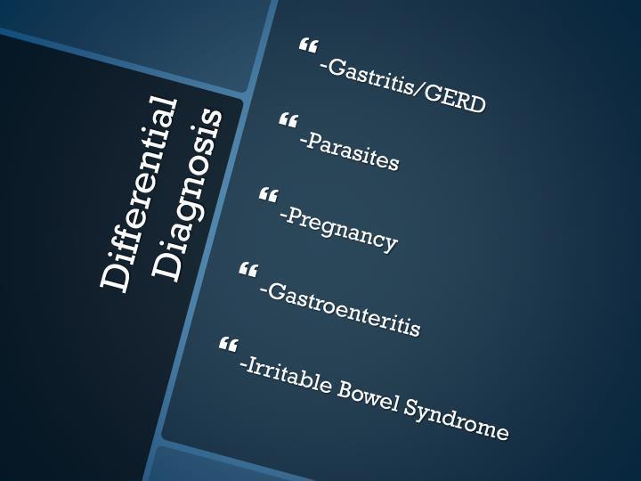 -Gastritis/GERD