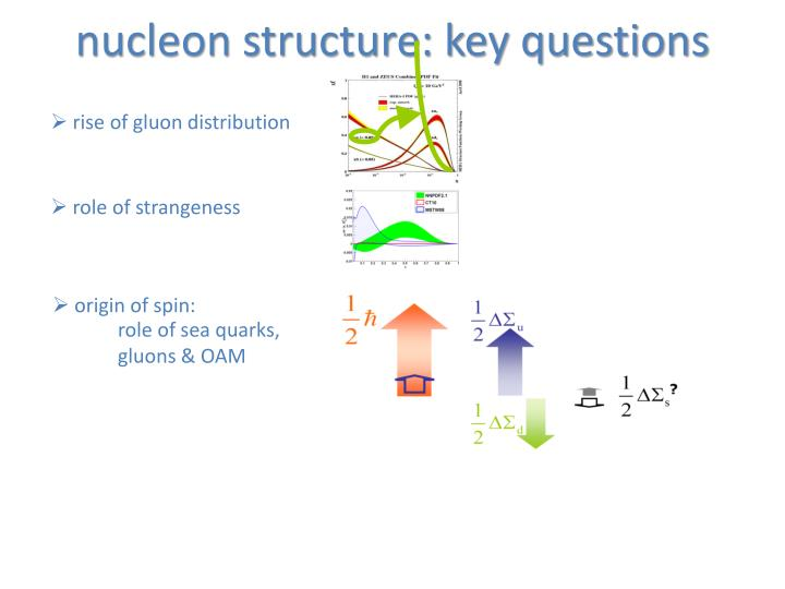 nucleon structure: key questions