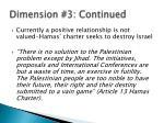 dimension 3 continued