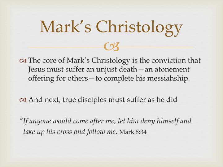 Mark's Christology