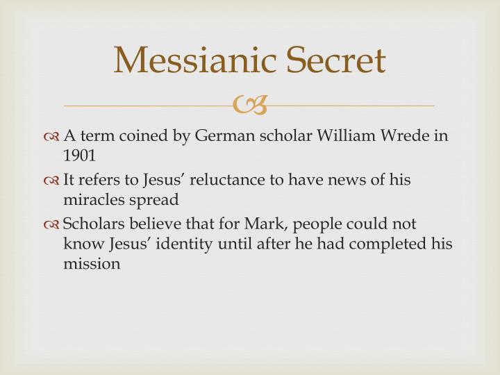 Messianic Secret