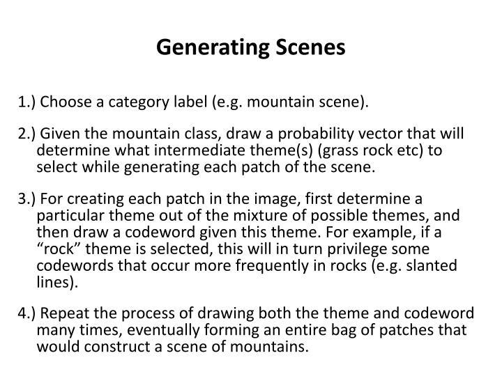 Generating Scenes