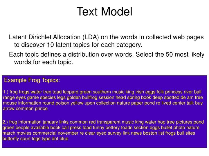 Text Model