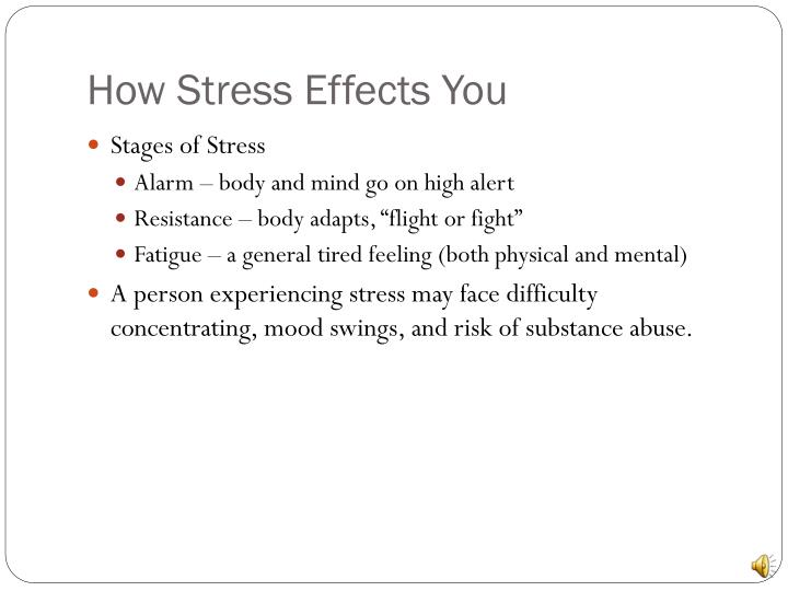 How Stress Effects You