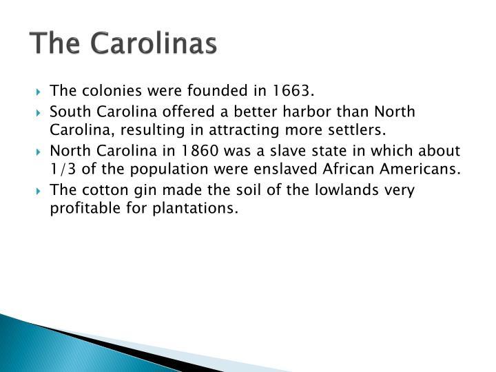 The Carolinas