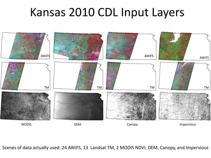 Kansas 2010 CDL Input Layers