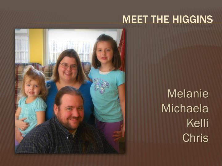 Meet the Higgins