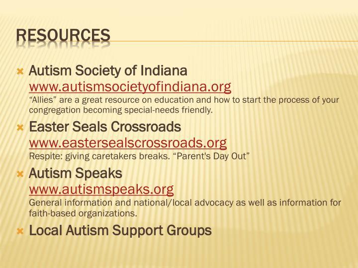 Autism Society of