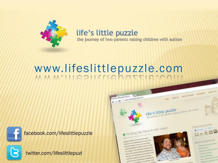 www.lifeslittlepuzzle.com