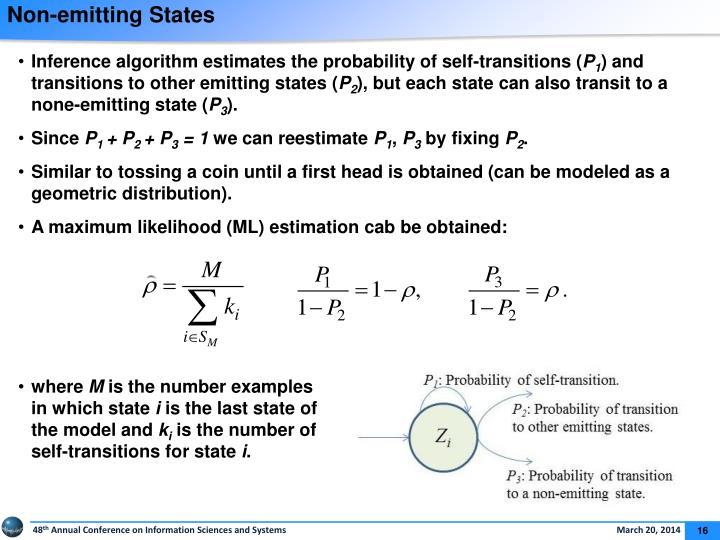 Non-emitting States