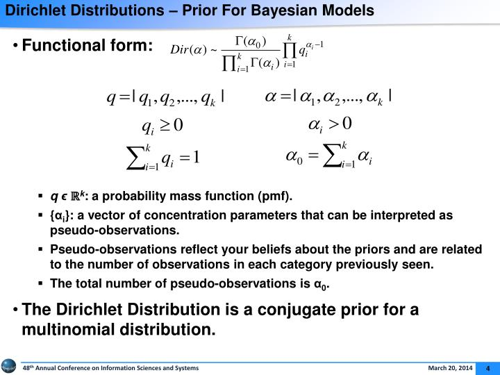 Dirichlet Distributions – Prior For Bayesian Models