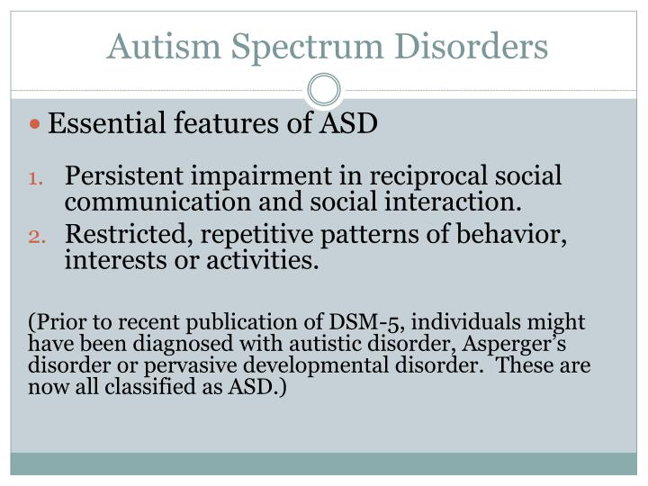 challenges with autistic spectrum disorder Autistic spectrum disorder affects children from all walks of life  they felt were huge challenges  spectrum disorder (asd) autistic spectrum disorders.