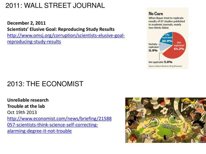 2011: WALL STREET JOURNAL