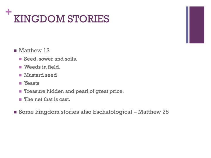 KINGDOM STORIES
