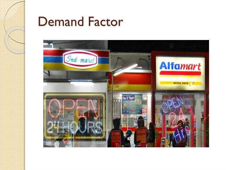 Demand Factor