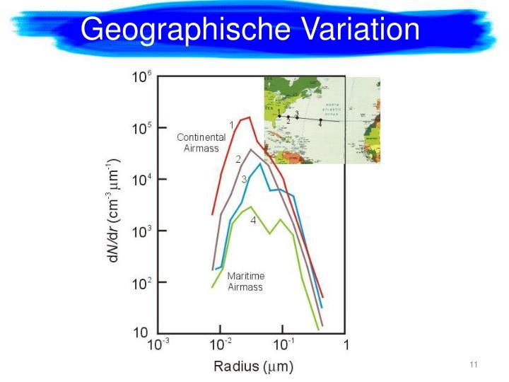 Geographische
