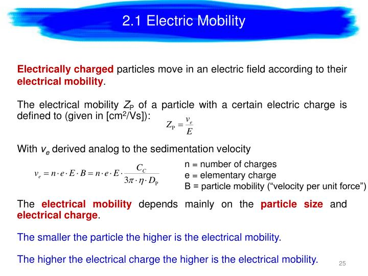 2.1 Electric Mobility