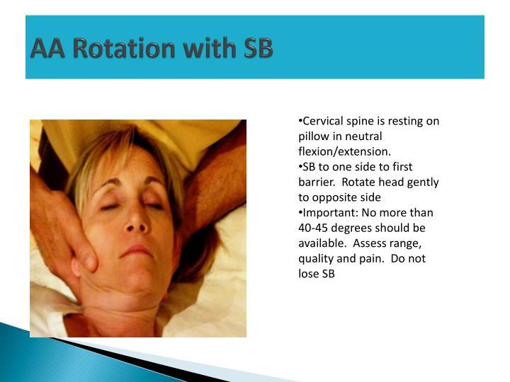 AA Rotation with SB