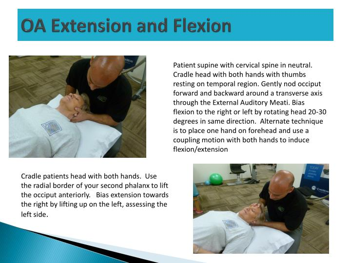 OA Extension and Flexion