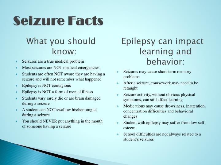 Seizure Facts