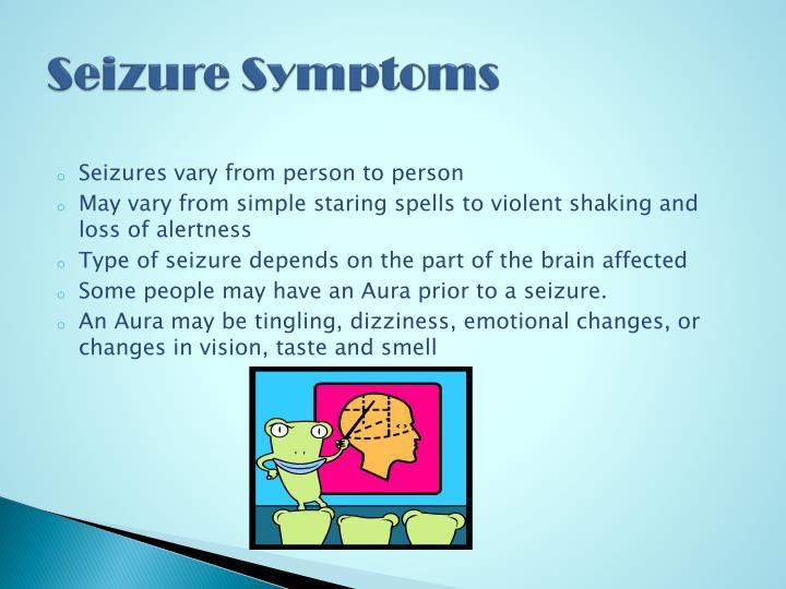 Seizure Symptoms