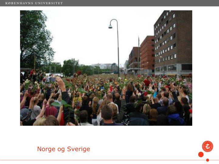 Norge og Sverige