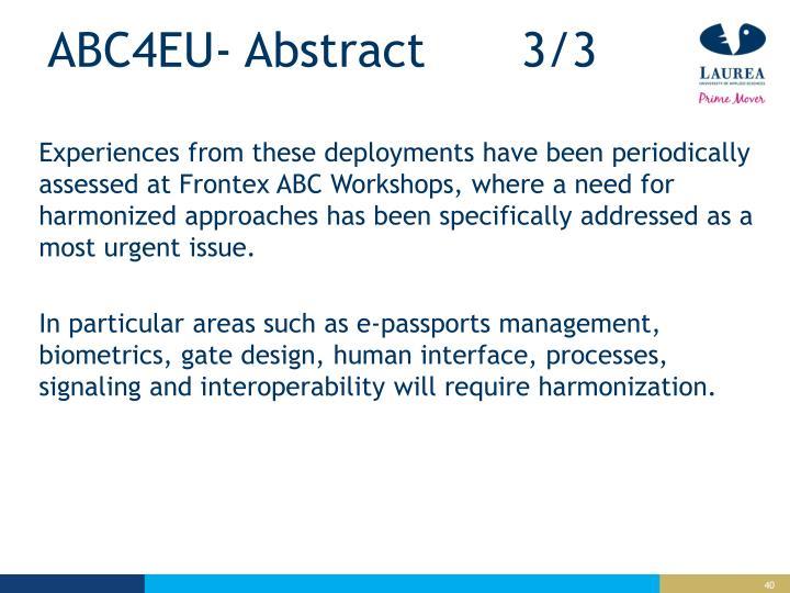 ABC4EU- Abstract3/3