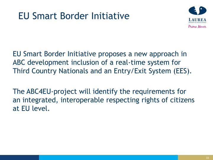EU Smart Border
