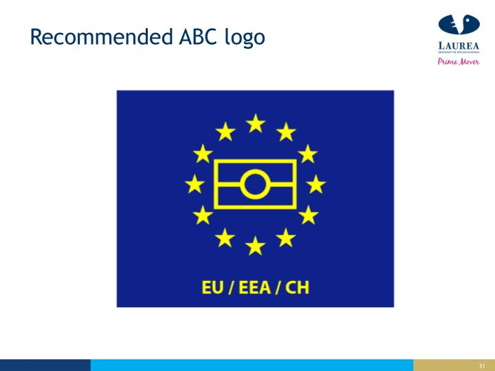 Recommended ABC logo