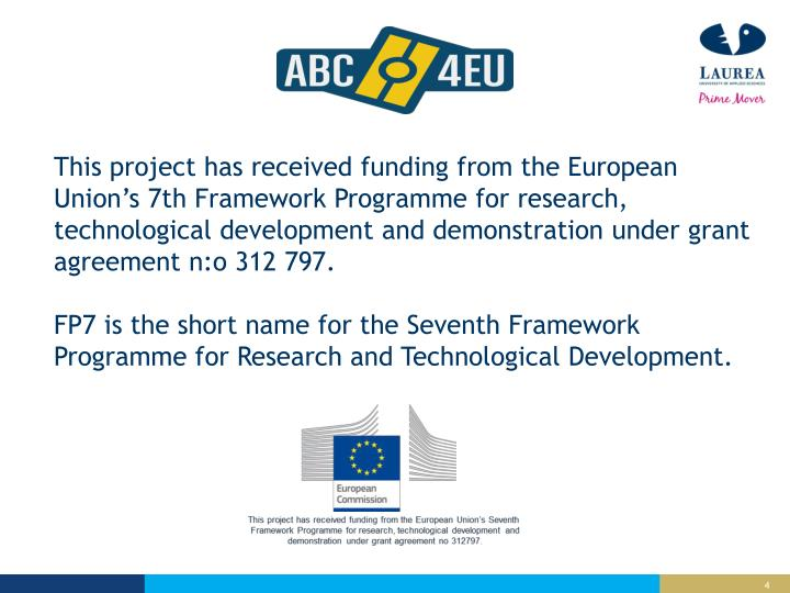 This project has received funding from the European Union's
