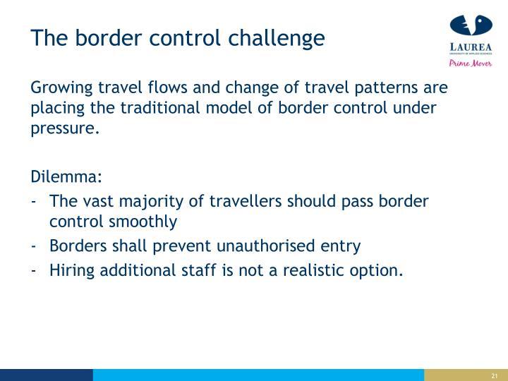 The border control