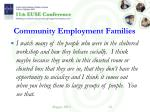 community employment families1