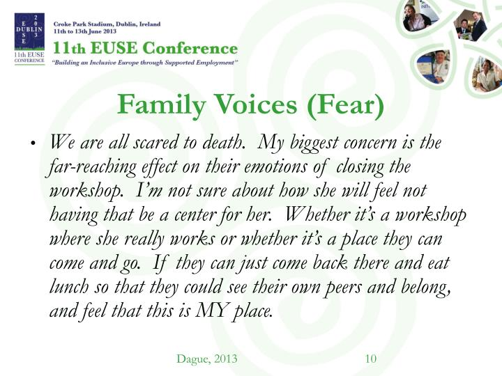 Family Voices (Fear)