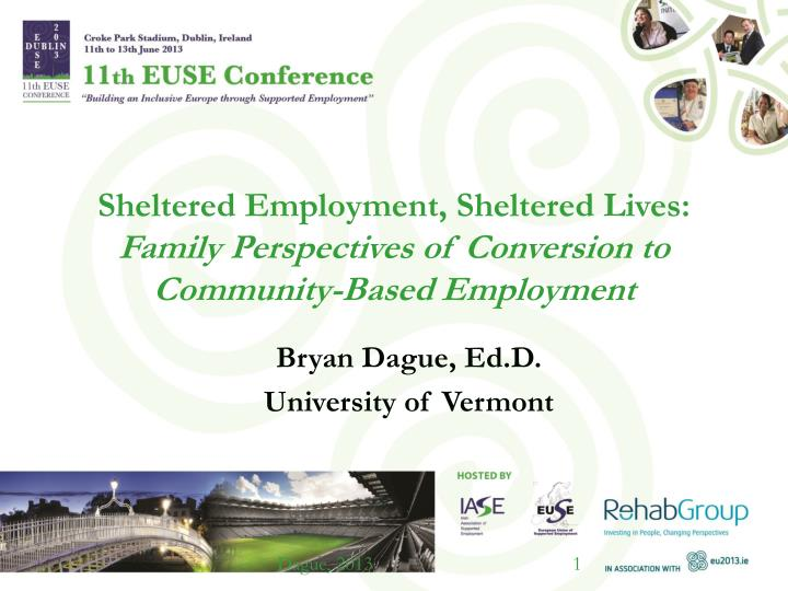 Sheltered Employment, Sheltered Lives: