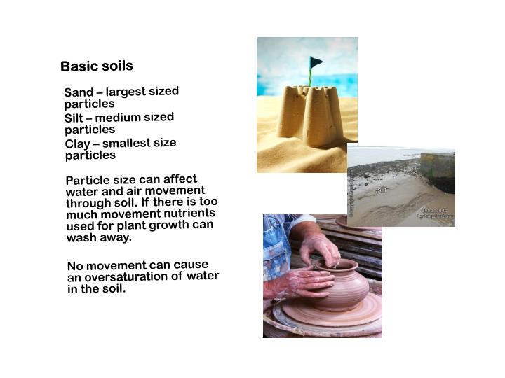 Basic soils