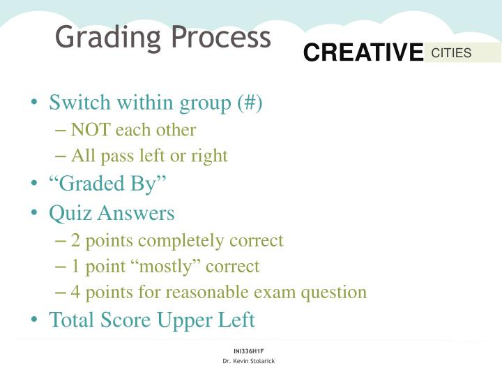 Grading Process