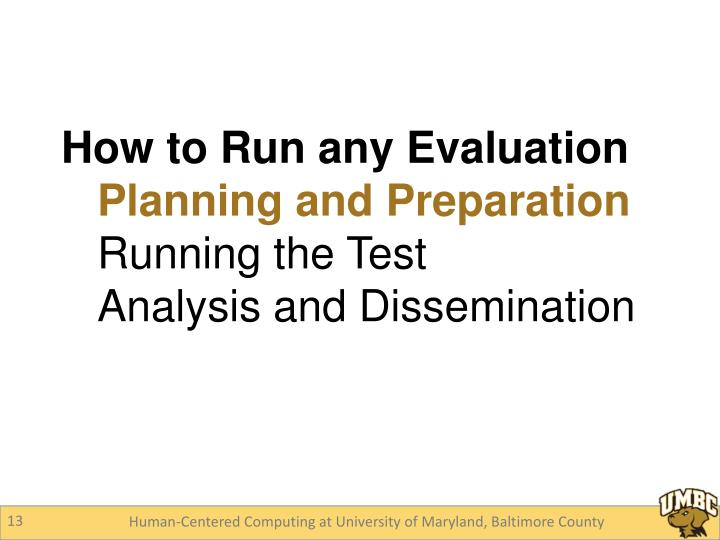 How to Run any Evaluation