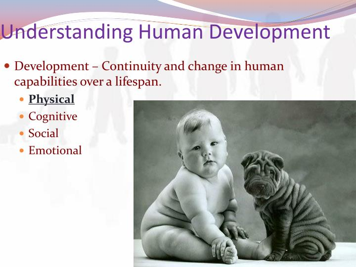 understanding human growth and development Human development: human development, the process of growth and change that takes place between birth and maturity human growth is far from being a simple and uniform process of becoming.