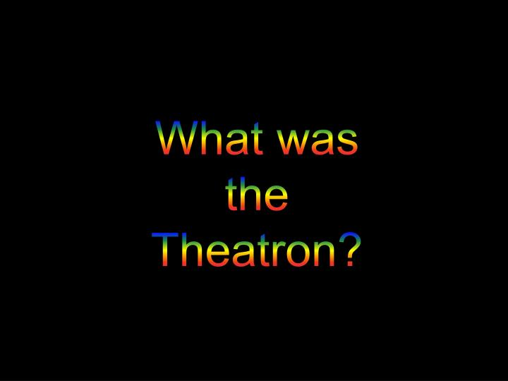 What was the