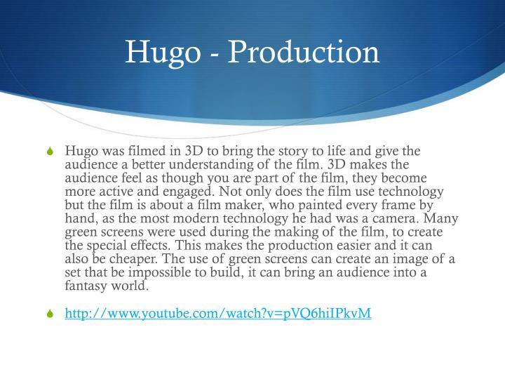 Hugo - Production