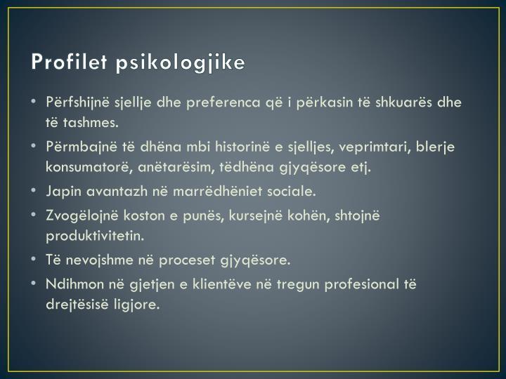 Profilet psikologjike