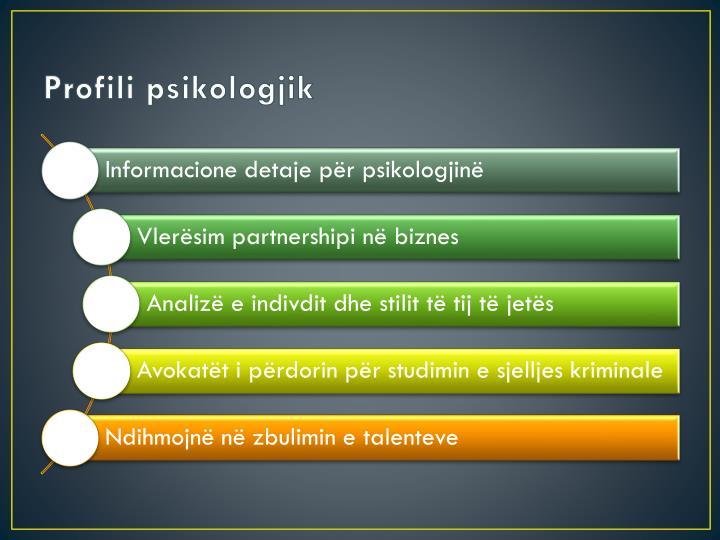 Profili psikologjik