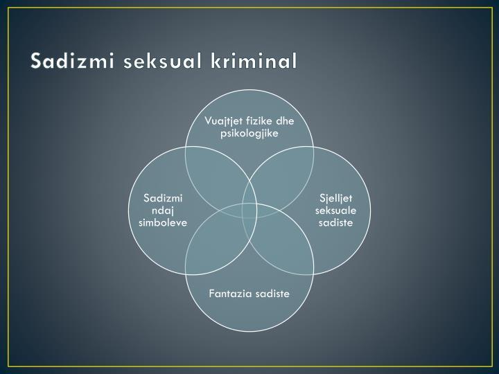 Sadizmi seksual kriminal