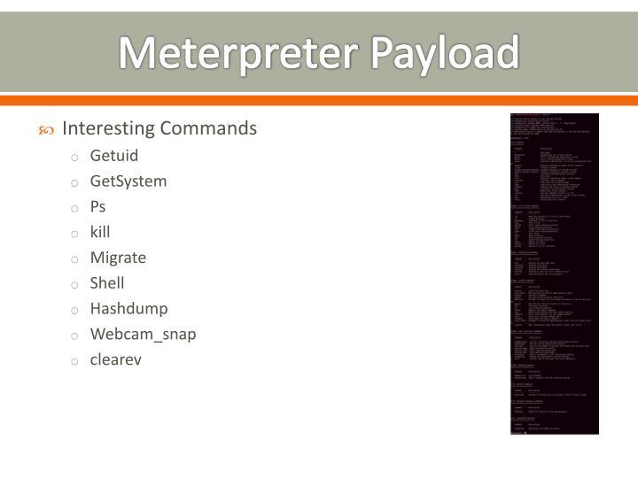Meterpreter