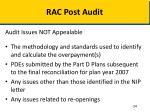 rac post audit4