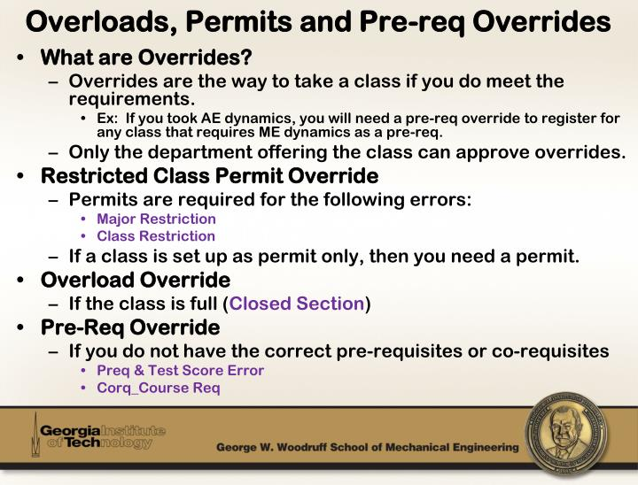 What are Overrides?