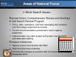areas of national focus5