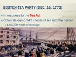 boston tea party dec 16 1773