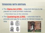 tensions with britain4